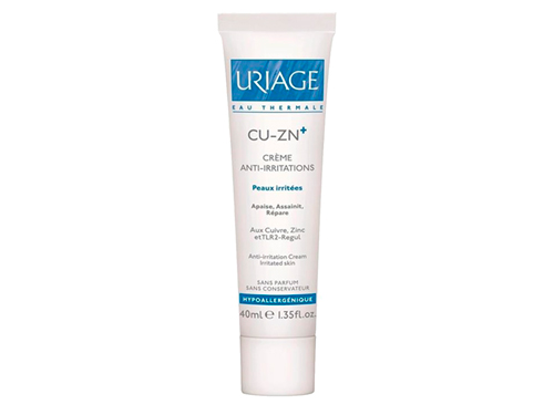 Крем для атопичной кожи Uriage Cu-Zn+ Anti-Irritation Cleansing Cream
