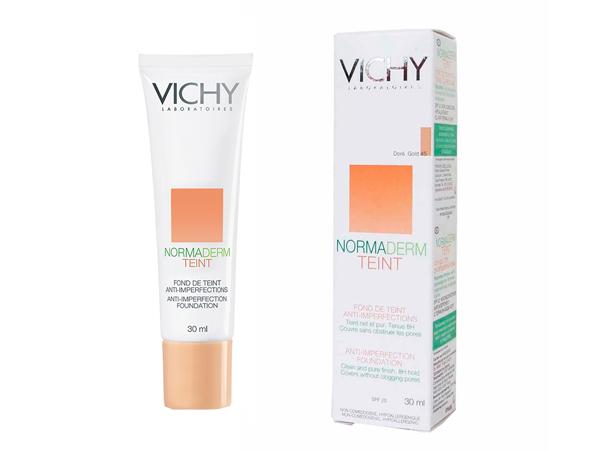 Тональный крем для проблемной кожи vichy normaderm